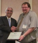 Photo of Blacksburg Transit award